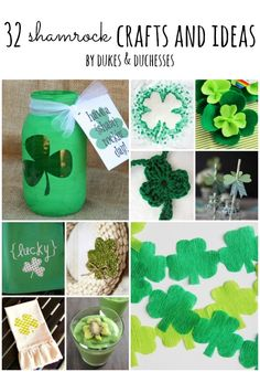 32 Shamrock Crafts a