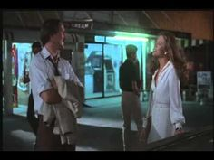Body Heat - Ned Racine and Matty Walker meet at the band concert William Hurt, Kathleen Turner, Mickey Rourke, Police Detective, Body Heat, Shadows, Smoking, It Hurts, How To Memorize Things