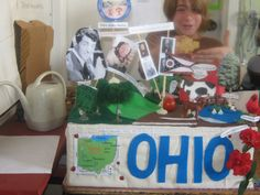 state project | Wednesday Rotations: The State Project Science Fair Projects, School Projects, State Mottos, Teaching Social Studies, 5th Grades, Ohio, Homeschool, Presents, Invitations