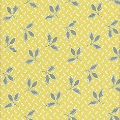 Denyse Schmidt Hope Valley - Thistle Leaf, Piney Woods - $9.50 per yard