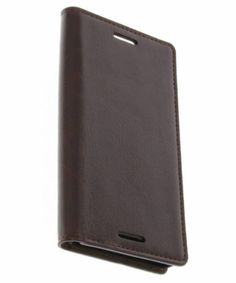 Brown-Business-Booktype-cover-for-Sony-Xperia-X-Compact