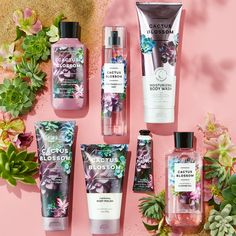 Cactus Blossom is a sweet blend of Cactus Blossom Petals, Coconut & Vanilla – aka the ideal, yearround fragrance for yourself (& obviously your home, too! Bath N Body Works, Bath And Body Works Perfume, Body Wash, Freebies By Mail, Victoria Secret Fragrances, Cactus Blossoms, Body Lotions, Body Spray, The Body Shop