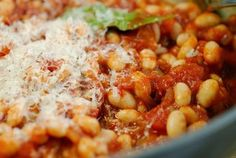 Eerst Koken: Jamie's witte bonen in tomatensaus
