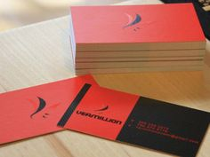 Vermillion Business Card