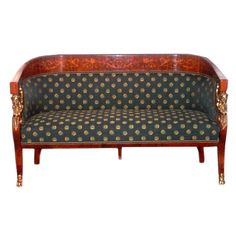 Empire Revival Loveseat  by Miklos YBL | From a unique collection of antique and modern canapes at http://www.1stdibs.com/furniture/seating/canapes/