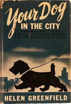 Here are a few books about dogs, real & fictional.  Your dog in the city 1945 via  Sir Gruff, The Woolly Dog 1947 via Etsy  Houn' Dog By Mary Calhoun | Illustrated by Roger Duvoisin (c) 1959 via  krakencrafts on flickr  The Playful Little Dog Jean Berg 1951 via ebay