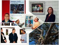 Collage de la exposición Sensaciones visuales
