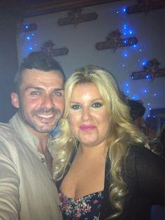 Con la gran hermana Anabel en #LaPosada después de la gala de #gh14 @Albertodelacru