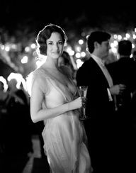 Great Gatsby wedding. Roaring '20s style. #celebstylewed