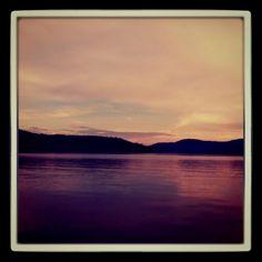 Sun set at priest lake ID