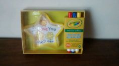 """Crayola's """"Just For You """" Paperweight Kit Created By Hallmark"""