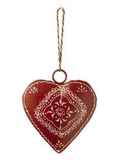 Vintage Heart Ornament ~  from Gardener's Supply
