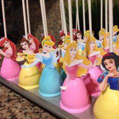 Disney Princesses Cake Pops Disney Cake Pops, Disney Cakes, Princess Birthday, Princess Party, 4th Birthday, Birthday Parties, Birthday Ideas, Princess Cake Pops, Cupcakes