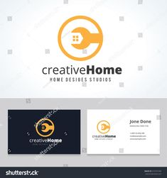 Creative home,home repair services,house fix,house logo,vector logo template