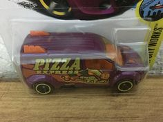 Hot Wheels - Ford Transit Connect
