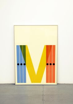 graphicalhouse:Our contribution to the Massimo Vignelli expo in San Sebastián. #GraphicalHouse