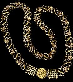 The only known, complete, surviving chain of office from the period of Henry VIII fetched over £300,000 at auction today.      The Coleridge Collar is one of the most important surviving relics of the Tudor age.      Henry VIII is thought to have given the chain, which has never been offered at auction before, to Sir Edward Montagu, one of his closest advisers.
