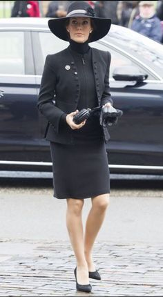 Princess Marie attended the moving  memorial service in the French Reformed Church, in Copenhagen 11/15/2015