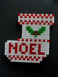 Most current Pictures ornament vorlagen Concepts In architecture and ornamental art, decoration is a adornment applied to embellish areas of your creating and also obje Pearler Bead Patterns, Perler Patterns, Christmas Perler Beads, Picture Ornaments, Art Perle, 8bit Art, Peler Beads, Iron Beads, Christmas Gift Decorations