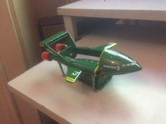 https://flic.kr/p/FuxjeK | I've got a tiger in my tank | Here is Corgi's Thunderbird 2 with it's Pod dropped.