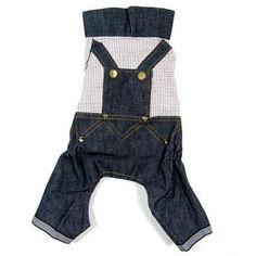 Denim Jeans Dog Clothes
