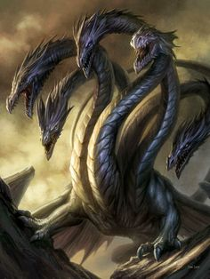 "# DRAGON CREATURE  ""TIAMAT"" BY DAN SCOTT"