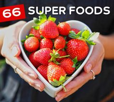 66 SUPER FOODS TO HELP YOU LIVE A LONGER & HEALTHIER LIFE | A recurring theme you'll see in our list of Superfoods is that they'll usually provide support to a major organ needed to live. There are foods you can eat that benefit the heart, brain, liver, and other vital organs. Another benefit that is commonly shared is the presence of antioxidants used to battle free radicals and help keep us free from disease and fight the aging process. #food #diet #health #superfoods