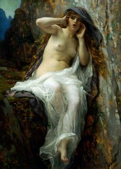 "Alexandre Cabanel, ""Echo"", 1874, oil on canvas, Metropolitan Museum of Art, New York, USA"