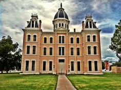 Presidio County Courthouse in Marfa