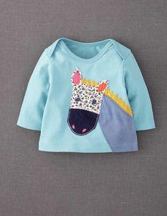 Animal Appliqué T-shirt - Boden