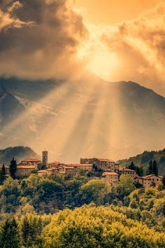 Tuscan Dawn by Alex Hill