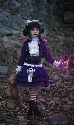 Goth Annie league of legends cosplay