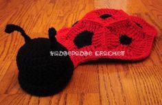 https://hodgepodgecrochet.wordpress.com: Free Pattern--Ladybug Photo Prop