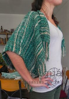 Práctico y original The Originals, Crochet, Sweaters, Fashion, Tapestry Weaving, Sweater Vests, Tejidos, Women, Beauty