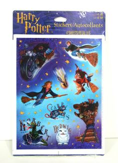 "Your school binders were COVERED in stickers. | 19 Throwback ""Harry Potter"" Products That'll Bring Fans Intense Nostalgia"