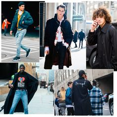 Street style à la Fashion Week homme automne-hiver 2017-2018 de New York.  Découvrez ... e88afe02a74