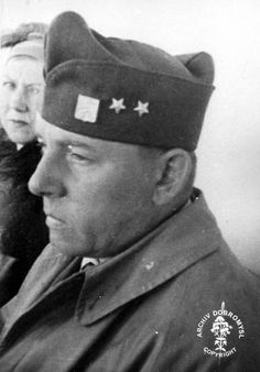 "Major Karel Palecek, one of ""Moravec´s XI"" and later the Head of Special Group D in June 1940 during the evacuation to Great Britain from France. Special Group, Catholic Priest, Paratrooper, Never Again, Great Britain, Wwii, Battle, June, The Unit"