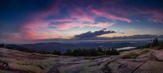 Maine: Cadillac Mountain at Sunset by Mariposaland Photos, via Flickr