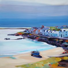 Pam Carter | beached boat , Portnahaven