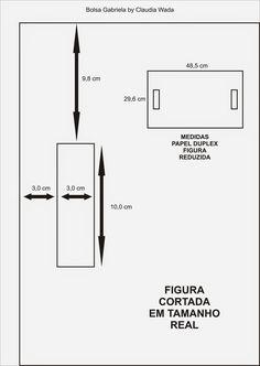 Gata Bacana: Passo a Passo Bolsa em Cartonagem Claudia Wada, Scrapbook Pages, Ems, Bar Chart, Diagram, Pattern, Purses, Download, Clutches
