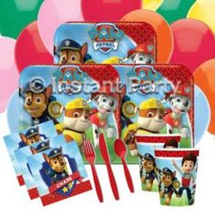 Boys Parties :: Paw Patrol :: Paw Patrol Classic Party Pack