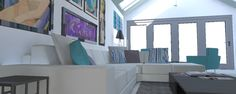 Hot House, Portfolio Images, 3d Visualization, Curtains, Interior Design, Home Decor, Nest Design, Blinds, Decoration Home