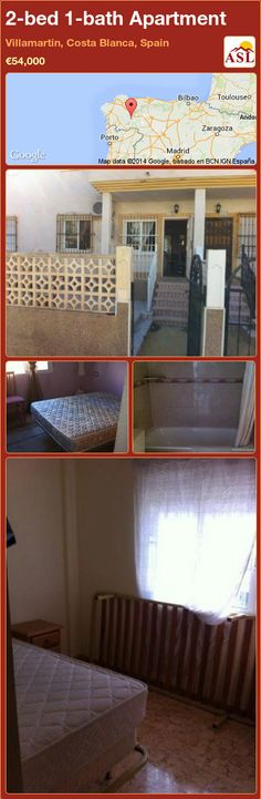 2-bed 1-bath Apartment in Villamartin, Costa Blanca, Spain ►€54,000 #PropertyForSaleInSpain