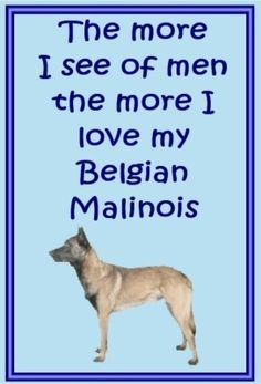 Belgian Malinois owners - just for you! one of over 200 breeds in our Ebay store!