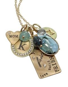Mother's Day is around the corner - perfect time for some Heather B. Moore personalized jewelry! Available at TW