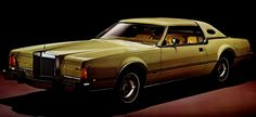 1976 - Ford Lincoln Continental Mark lV