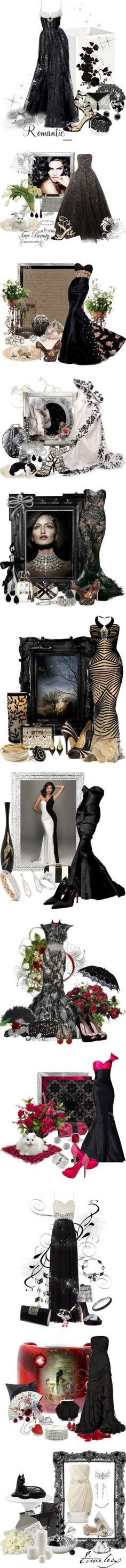 """""""The Beauty of Black"""" by signaturenails-dstanley on Polyvore"""
