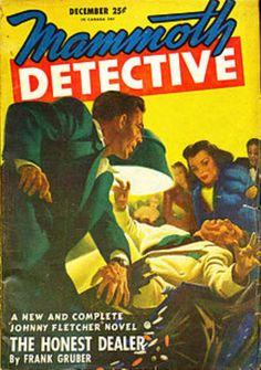 Gruber's main character- Johnny Fletcher Detective, Novels, Adventure, Main Character, Hard Boiled, Wikimedia Commons, Contents, Magazine, Magazines