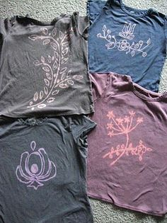 Bleach pen t-shirt ideas