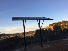 Monoposte solar, para autoconsumo